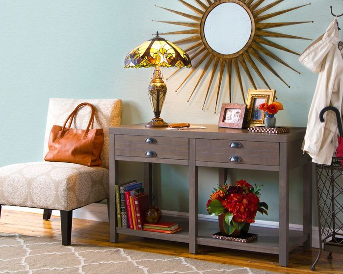 Delightful Contemporary Entryway And Hallway Style. Click To Shop The Look At Wayfair. Com! Slipper ChairsBook ReviewsApartment ...