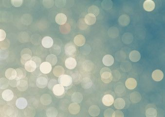 Abstract christmas lights , background bokeh circles for Christmas background..