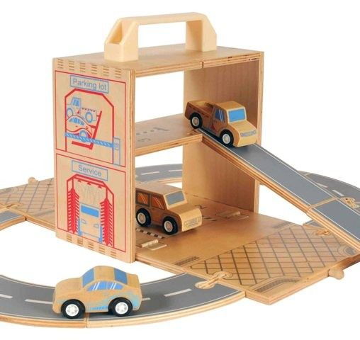 Tiger Tribe - Wooden Boxset Car - C is a little boy who LOVES cars and trucks! This great little set would allow him to take one of his favourite things everywhere he goes! - #EntropyWishList #PintoWin