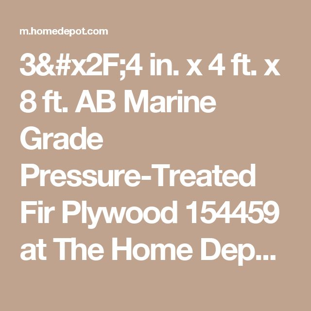 Best  Pressure Treated Plywood Ideas On Pinterest Treated - Exterior plywood home depot