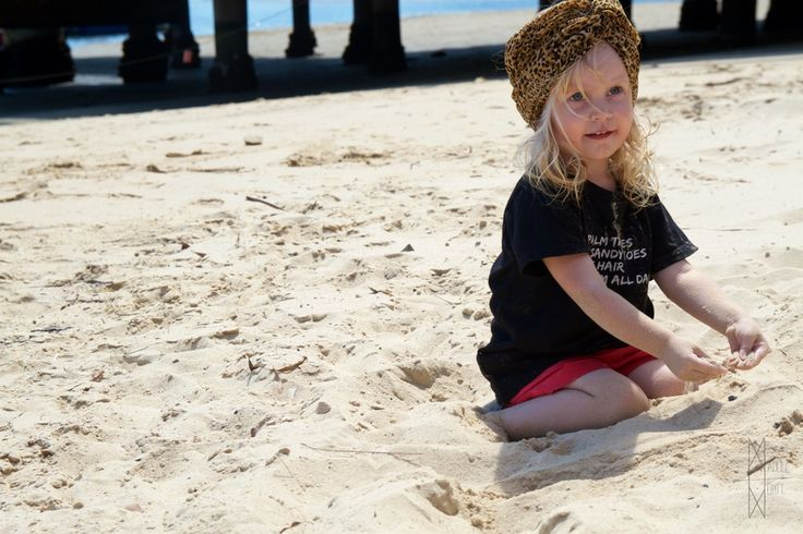 Manuel Montt Kids - Palm Trees, Sandy Toes, Messy Hair, Swim All Day -                               #unisex #babyclothes #palmtrees #messyhair #sandytoes #leopard #organic #beachbaby