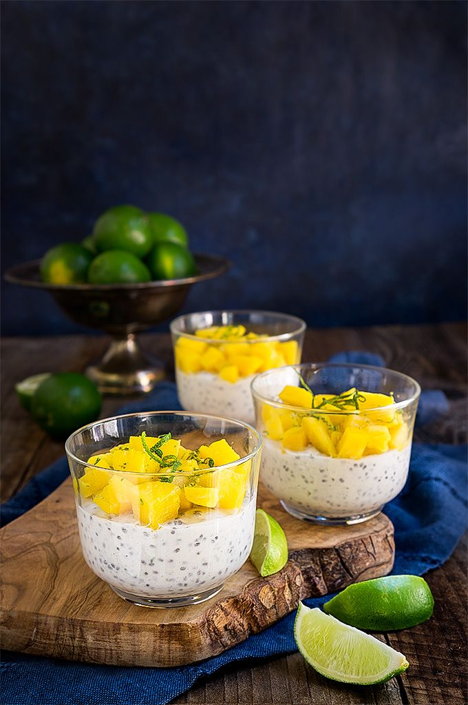Creamy, delicious and super nutritious, with a refreshing tropical flavor - it's a great summer breakfast that can be made the night before.