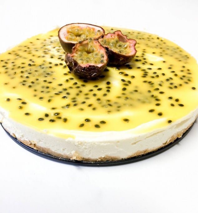 Passionsfruktscheesecake   Elins bakficka