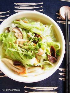 たっぷりキャベツのコク旨塩うどん by 庭乃桃 / レシピサイト「ナディア / Nadia」/プロの料理を無料で検索