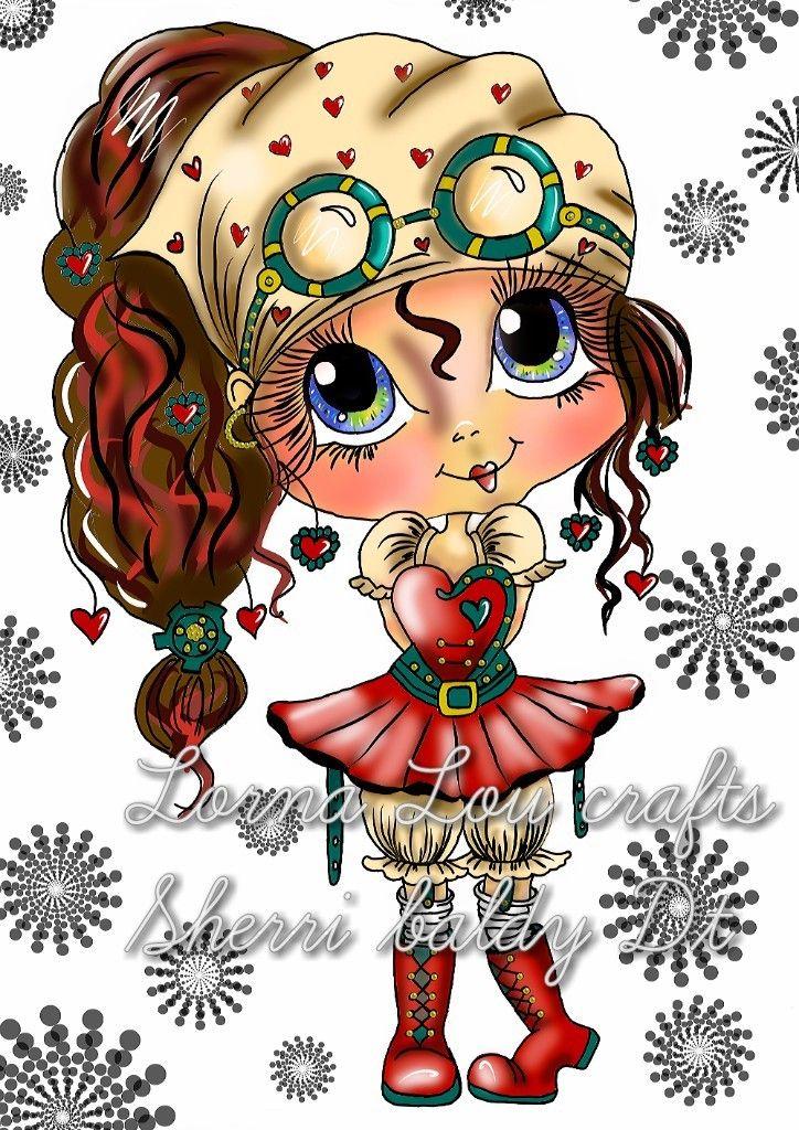 New Sherri Baldy Bestie I Ve Coloured Big Eyes Art
