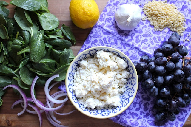 Grape, Feta and Orzo Salad. ~: Amazing, Bad Things, Food Style, Homemade Food, Ads Grape, Orzo Salad, Best Food, Sweet Flavored, Food Recipe