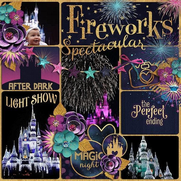 Fireworks Spectacular - Scrapbook.com