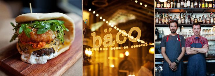 baco mercat. insanely pretentious menu, but cocktails are tasty and i hear the food is awesome. dtla. los angeles. restaurant.
