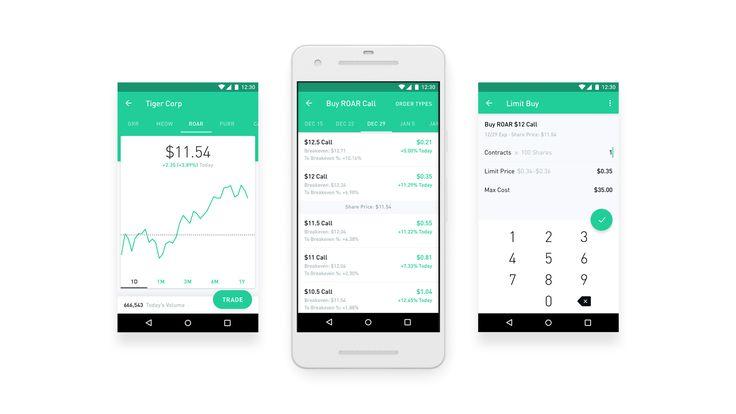 Robinhood—the fintech startup that offers stock, option