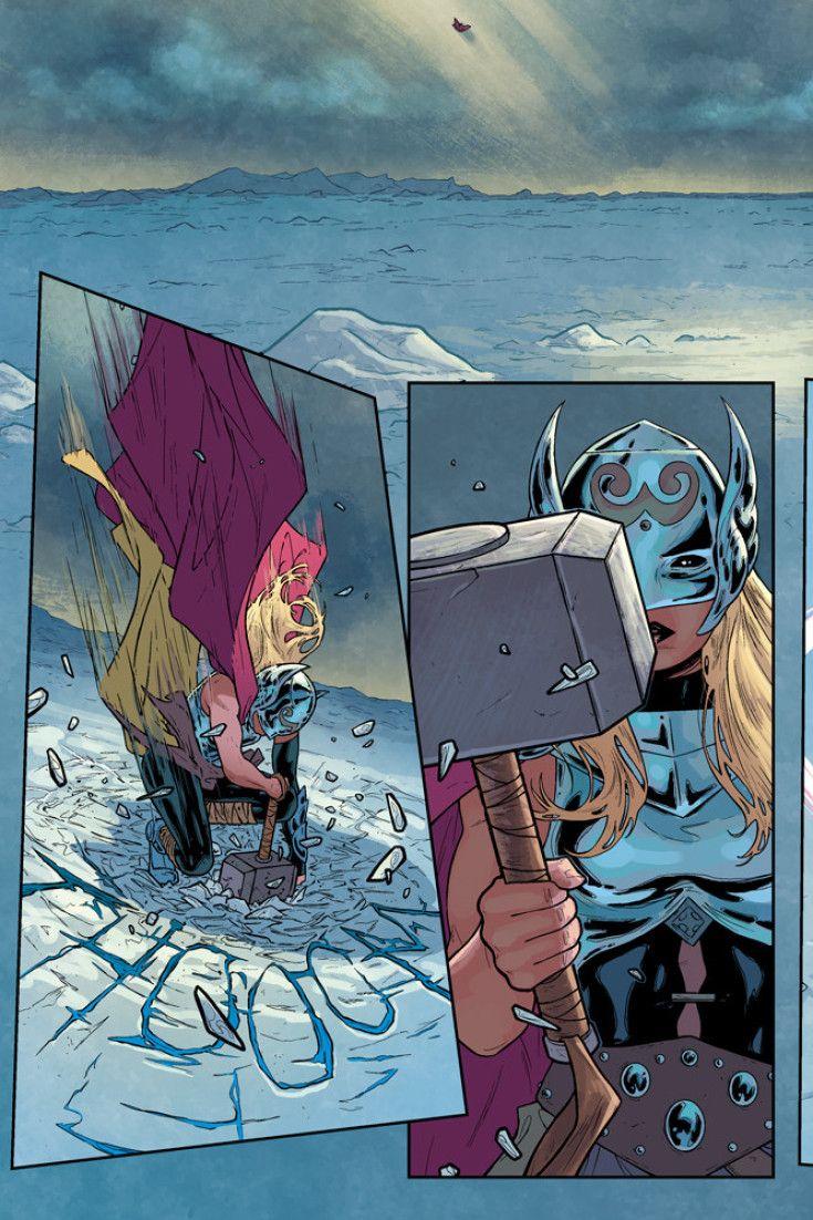 Marvel's New Female Thor, Goddess Of Thunder, Is Finally Unmasked