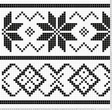 fair isle pattern charts - Google Search