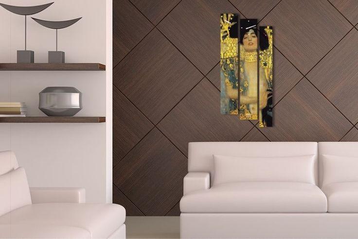 Interior Wall Clock Judith Home Decor, Modern Luxury 3pcs Framed Wall Art   #LEMONART #ArtDeco