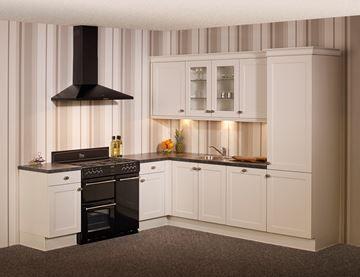 KeukenDeal - 69 - Landelijk hoekkeuken - geheel compleet, inclusief Montage