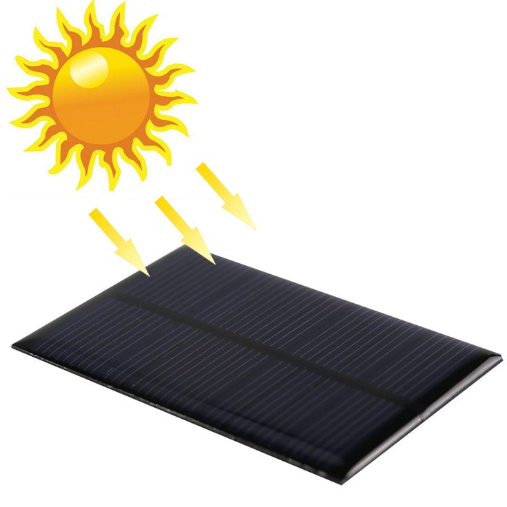 Mini 6 v 12 v panel solar sistema de paneles de energía solar de china diy módulo cargador de batería celular portable panneau solaire tablero de energía