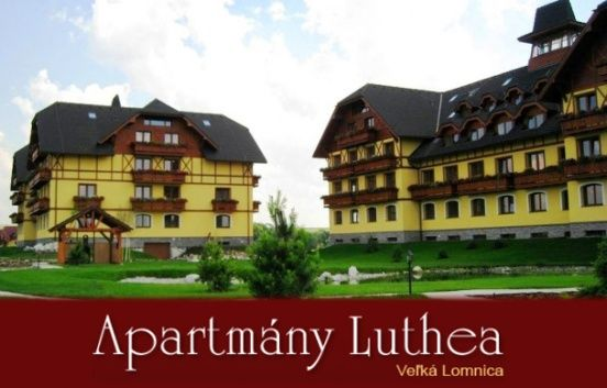 Exkluzívna celoročná zľava 60% na pobyt v apartmánoch LUTHEA vo VYSOKÝCH TATRÁCH. Cena už od 9.90€ osoba/noc. Zľavu získate iba s našim kupónom za 99 CENTOV!