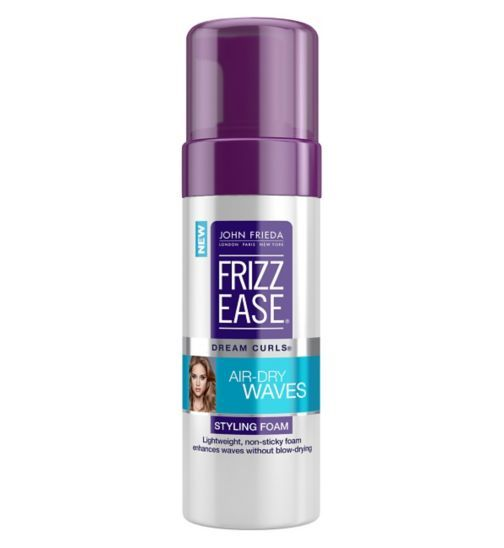 John Frieda Frizz Ease Curls Air-Dry Waves Styling Foam 150ml - Boots