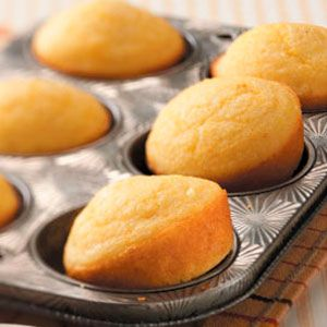 Deluxe Corn Muffins Recipe-great corn muffin, just slightly sweet. Left out the whole corn.