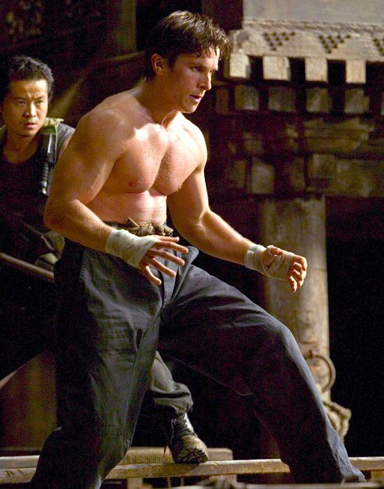 Christian Bale: Batman Begins