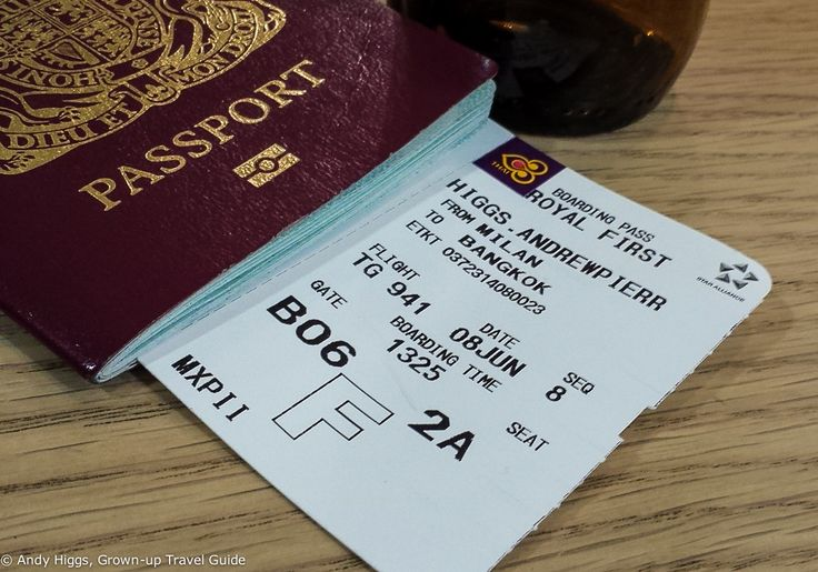 Flight report: Thai Airways A340 First Class Milan to Bangkok