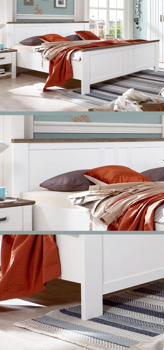 Die besten 25+ Bett landhausstil Ideen auf Pinterest Spiegel im - schlafzimmer ideen spannende luxusmobel