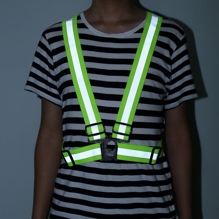 Reflective Safety Vest Lightweight, Elastic