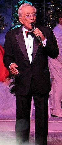 Andy Williams (Born: Dec 3, 1927 - Died Sept 25, 2012) RIP you will be missed