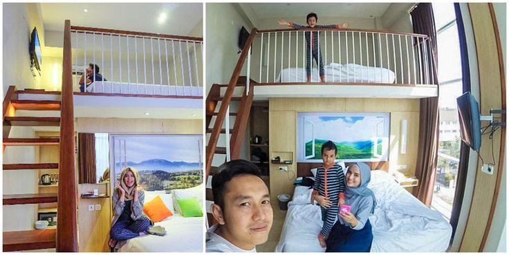 9 HOTEL DI BANDUNG DENGAN FAMILY ROOM DI BAWAH RP1 JUTA UNTUK LIBURAN SERU BARENG KELUARGA