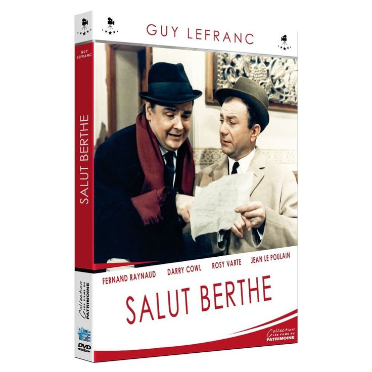 Salut Berthe ! FERNAND RAYNAUD - ROSY VARTE - JEAN LE POULAIN - DVD NEUF