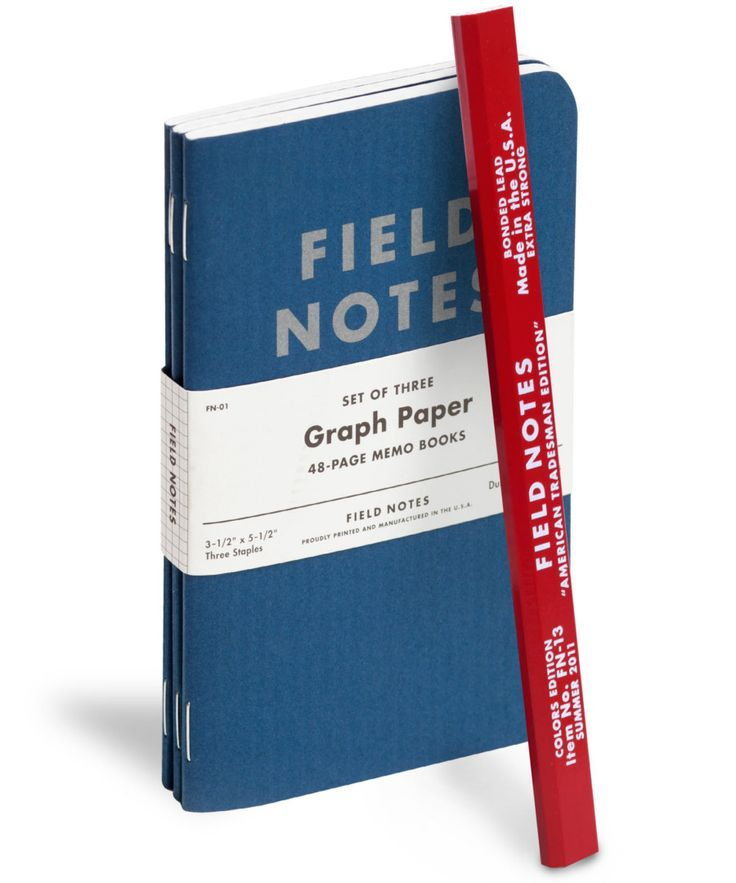 Best Field Notes Notebooks Images On   Field Notes