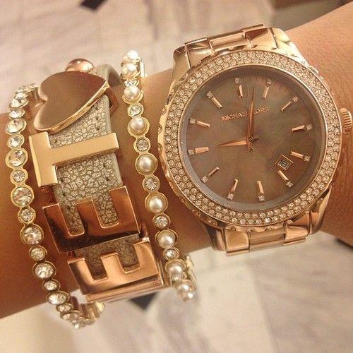<3 <3 <3 #mk #michaelkors #mkwatch #michaelkorswatch #fashion #watch #jewelry
