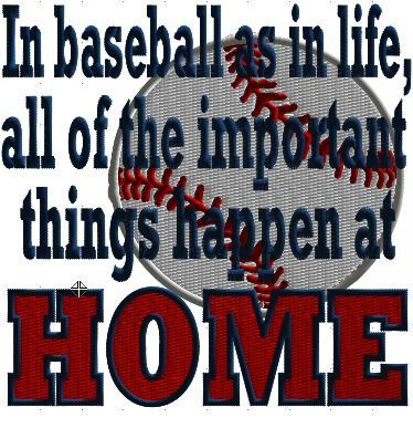 Baseball Quote Machine Embroidery Design by CraftyJacky on Etsy, $2.99