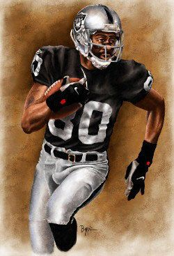 Jerry Rice. Would've been great to have had him in his prime with the Silver & Black.