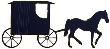 Horse and buggies  still solve a lot of problems, but mostly in Lancaster, Pennsylvania. Adapted from the original image in the U.S. Library of Congress