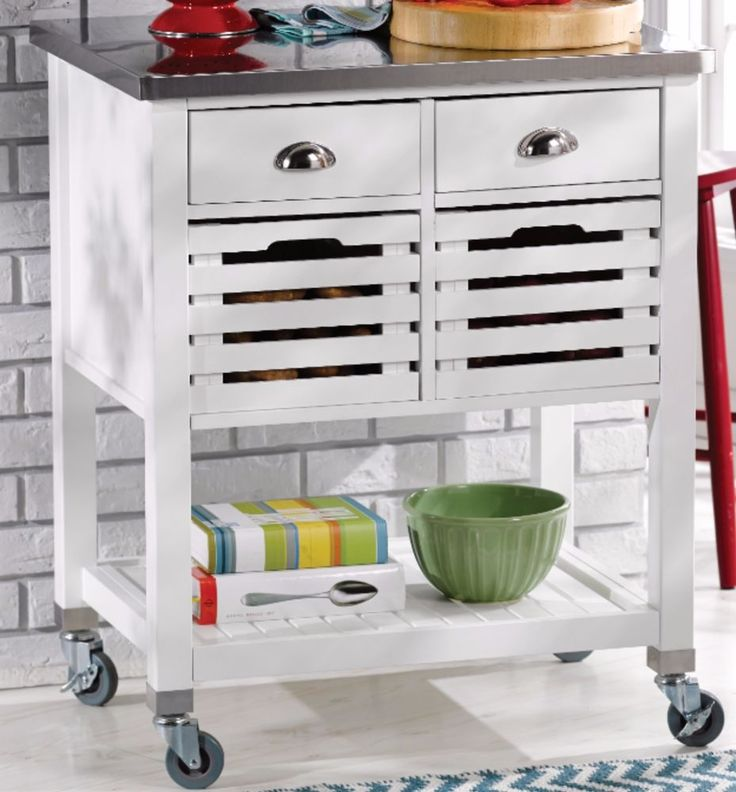 17 Best Ideas About Kitchen Carts On Wheels On Pinterest Bar On Wheels Mobile Kitchen Island