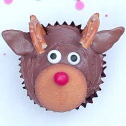 Receita: Cupcake de rena para o Natal!