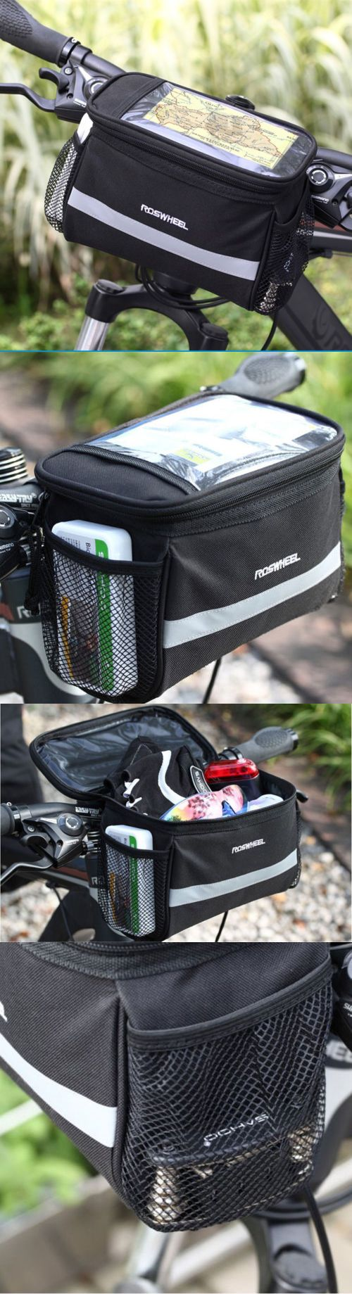 24 Best Bags And Panniers 177833 Images On Pinterest Rockbros A 008 Bike Handlebar Front Waterproof Pannier Bag 3 4l Cycling Bicycle Basket Top Frame Pouch
