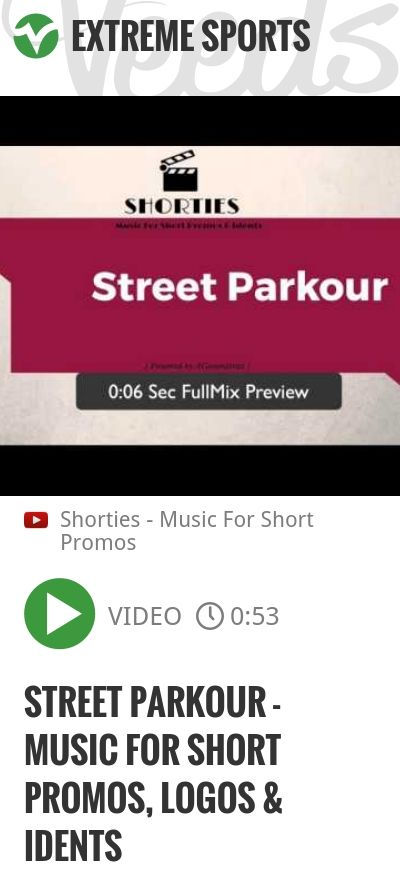 Street Parkour - Music For Short Promos, Logos & idents | #logos #ident | http://veeds.com/i/_FNwL3caAc8IAHPP/extreme/