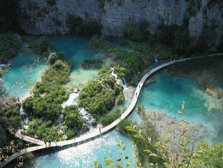 lugares-exoticos-del-mundo-lagos-Plitvice.jpg: Bucketlist, Buckets Lists, Globes, Beautiful Places, Croatia, National Parks, Amazing Places, Travel, Plitvic Lakes