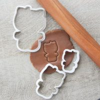 "Cookie cutter ""Set Hellow Kitty"" 3 pc"