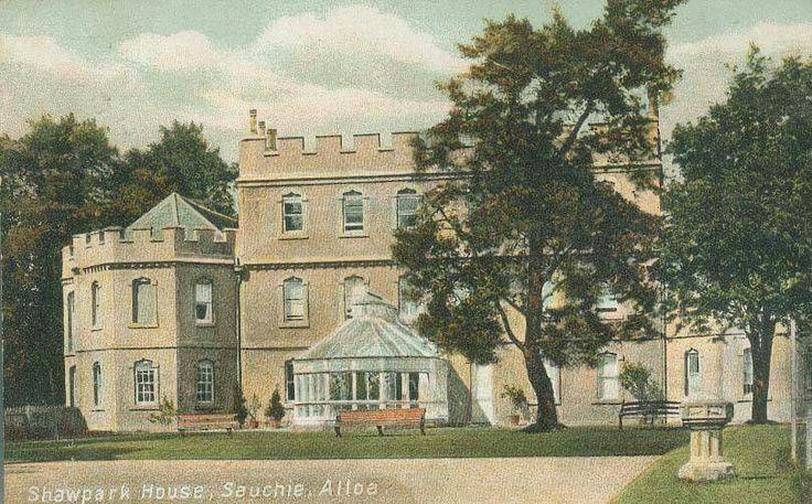 Shawpark house, Sauchie