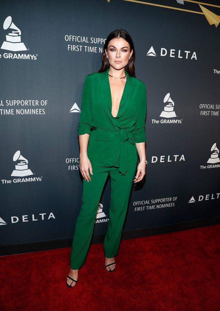 Serinda Swan - Delta Air Lines official Grammy event in Los Angeles - 2/9/17