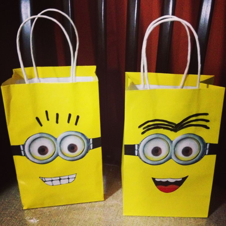 1000 ideas about minion party bags on pinterest minion. Black Bedroom Furniture Sets. Home Design Ideas