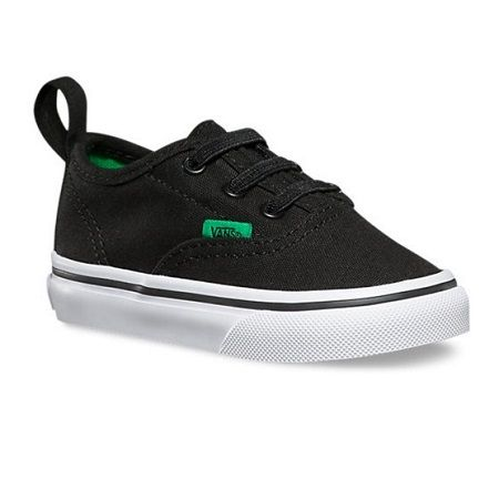 Vans | Authentic V Lace Sport Pop | Toddler These classic Authentic V Lace Vans kids shoes have taken the classic Vans skate shoes look and updated it – so if you have no time to lace then no worries!