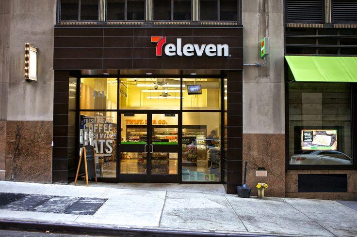 7eleven uno de los iconos de la cultura americana, rediseña su identidad y le da una vuelta bastante considerable a todo su retailing, redis...