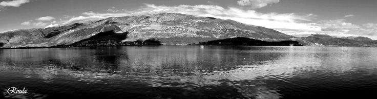 lake reflections..