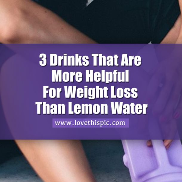 These 3 Drinks Are More Helpful For Weight Loss Than Lemon Water... diet weight loss health fat loss viral viral right now viral posts