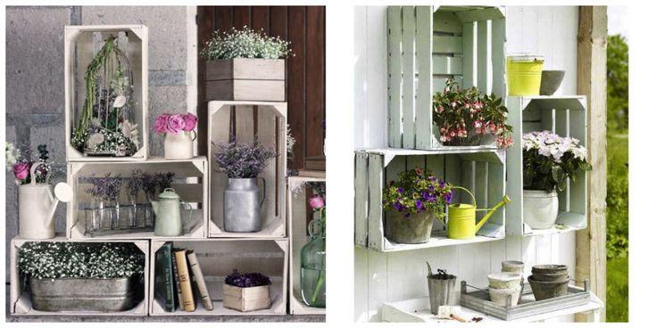 Decora-con-cajas-jardin | Eco-friendly Party Ideas | Pinterest ... Vintage Gartenlaternen Von Etsy Bringen Einen Romantischen Hauch