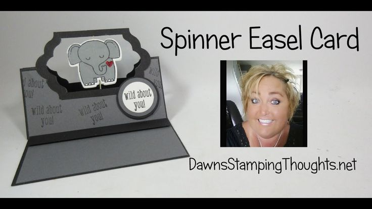 Spinner Easel Card