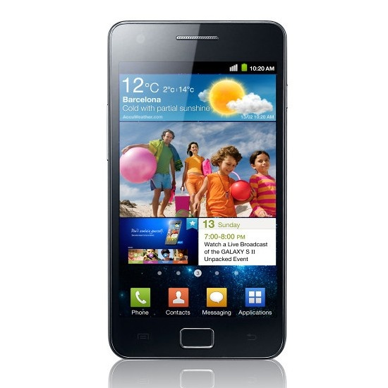 Check out the Samsung i9100 Galaxy S II 16GB from MobiCity - the latest phones, first!