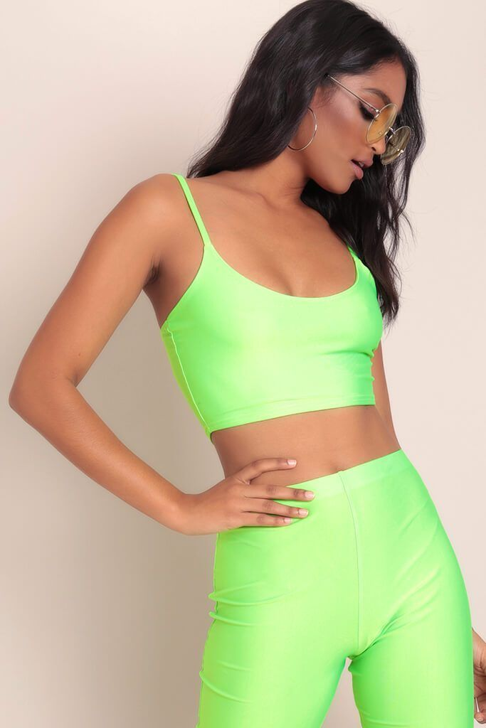 great quality separation shoes look good shoes sale Neon lime crop top in 2019 | Neon green outfits, Neon crop ...